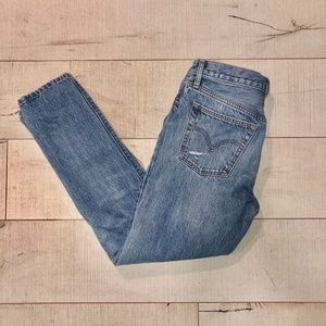 Levi's 501S ripped jeans